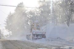 Nach Schneesturm Lizenzfreie Stockfotos