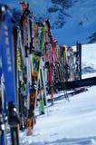 Nach Ski lizenzfreie stockbilder