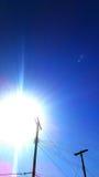 Nach Sonnenaufgang an einem kalten und schönen Tag! Lizenzfreies Stockbild