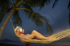 Nach Sonnenuntergang Lizenzfreies Stockfoto