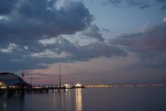 Nach Sonnenuntergang Stockfotos