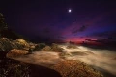 Nach Sonnenuntergang auf Phuket Stockfotos