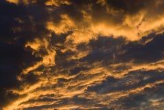 Nach Sturmwolken Stockbilder