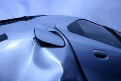 Nach Unfall stockbild