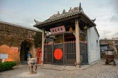 Nacha Temple i Macao arkivfoton