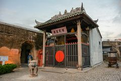 Nacha Temple in Macao stockfotos