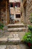 Nachbarschaft in Kroatien Stockbild