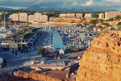 Nachbarschaft von EL Toro und Port-Adriano, Mallorca, Spanien lizenzfreie stockfotos