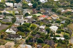 Nachbarschaftsantenne Stockfotografie