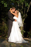 Nachdem wedding Stockbild