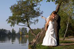 Nachdem wedding Lizenzfreies Stockbild