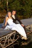 Nachdem wedding lizenzfreies stockfoto