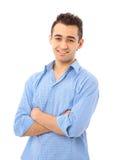 Nachdenklicher junger Mann Stockbilder