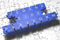 Nachfrage-Seiten-Plattform Lizenzfreie Stockfotos
