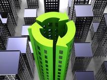 Nachhaltigkeits-Gesellschaft lizenzfreie abbildung