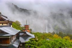 Nachi寺庙日本 库存图片