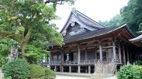 Nachi cai templo de Seiganto-ji em Japão foto de stock