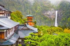 Nachi, Japan-Pagode lizenzfreies stockbild