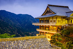 Nachi Japan Temple Buildings Royalty Free Stock Photography