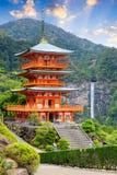 Nachi, pagoda de Japón fotos de archivo
