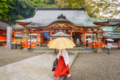 Nachi Shrine imagem de stock