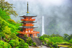 Nachi Shrine em Japão foto de stock