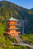 Nachi Shrine em Japão foto de stock royalty free