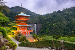 Nachi Shrine in Japan Stock Photos