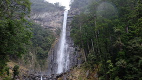 Nachi vattenfall, Japan Arkivbild
