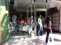 Nachmahd von London-Ruhelosigkeit 8. August 2011 Lizenzfreie Stockfotos