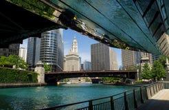 Nachmittag auf dem Riverwalk Lizenzfreie Stockbilder