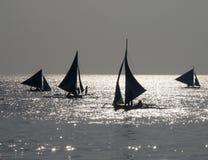 Nachmittag, der 1 segelt Stockbilder