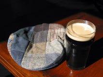 Nachmittag an einem irischen Pub Stockbild