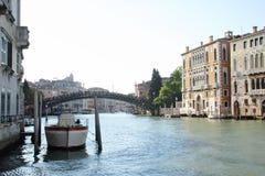 Nachmittag im Canal Grande Stockfotos