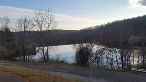 Nachmittag am Reservoir Stockbilder