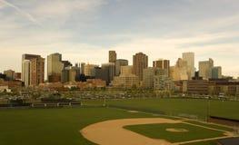 Nachmittagsabbildung von Denver Lizenzfreies Stockbild