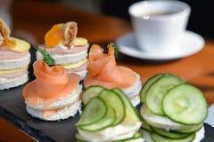 Nachmittagstee - wohlschmeckend lizenzfreies stockfoto
