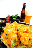 Nacho and Beer Royalty Free Stock Photos