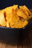 Nacho Cheese Tortilla Chips photos libres de droits