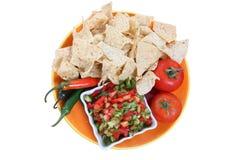 Nacho Chips Stock Photography
