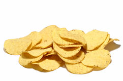 Nacho Chips. On isolated background Stock Photography