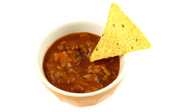 Nacho Chips & Dip Royalty Free Stock Photos