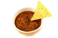 nacho dip обломоков Стоковые Фотографии RF