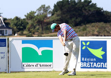 Nacho Elvira at the Pleneuf Val Andre golf Challenge 2013 Royalty Free Stock Photography