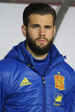 Nacho. Jose Ignacio Fernandez Iglesias defender of the Spanish National Football Team, pictured before the friendly match between Romania and Spain, played at royalty free stock images