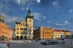 Nachod στη Δημοκρατία της Τσεχίας Στοκ φωτογραφία με δικαίωμα ελεύθερης χρήσης
