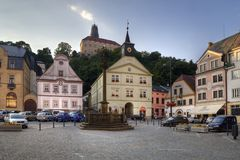 Nachod in Czech Republic Royalty Free Stock Image