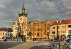 Nachod in Czech Republic Stock Image
