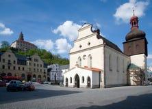 Nachod, République Tchèque Image libre de droits
