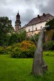 NACHOD, republika czech - MAJ 29, 2009: Ogródy przy Nachod Roszują w północno-wschodni republika czech obrazy royalty free